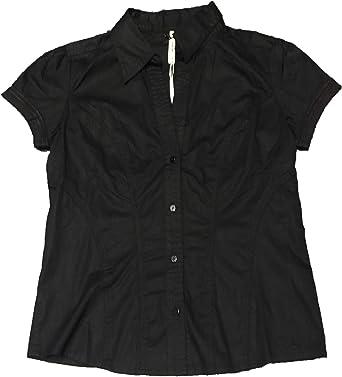 Pepe Jeans - Camisa Manga Corta Negra: Amazon.es: Ropa y accesorios