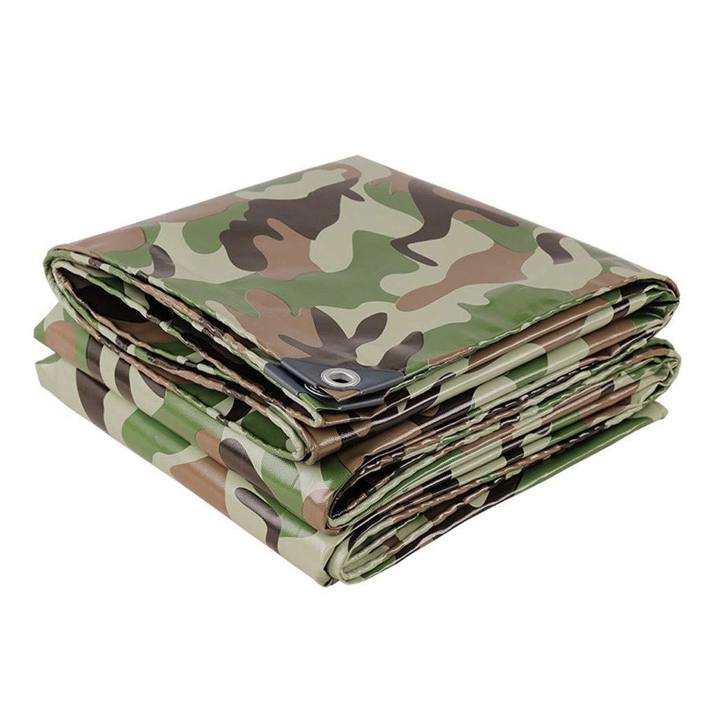 7X8m Feuille de piège opaque de bÂche de camouflage for le jardin et le camping, prougeection polyvalente contre la pluie et le soleil avec oeillet métallique, camouflage (Taille   2x3m)