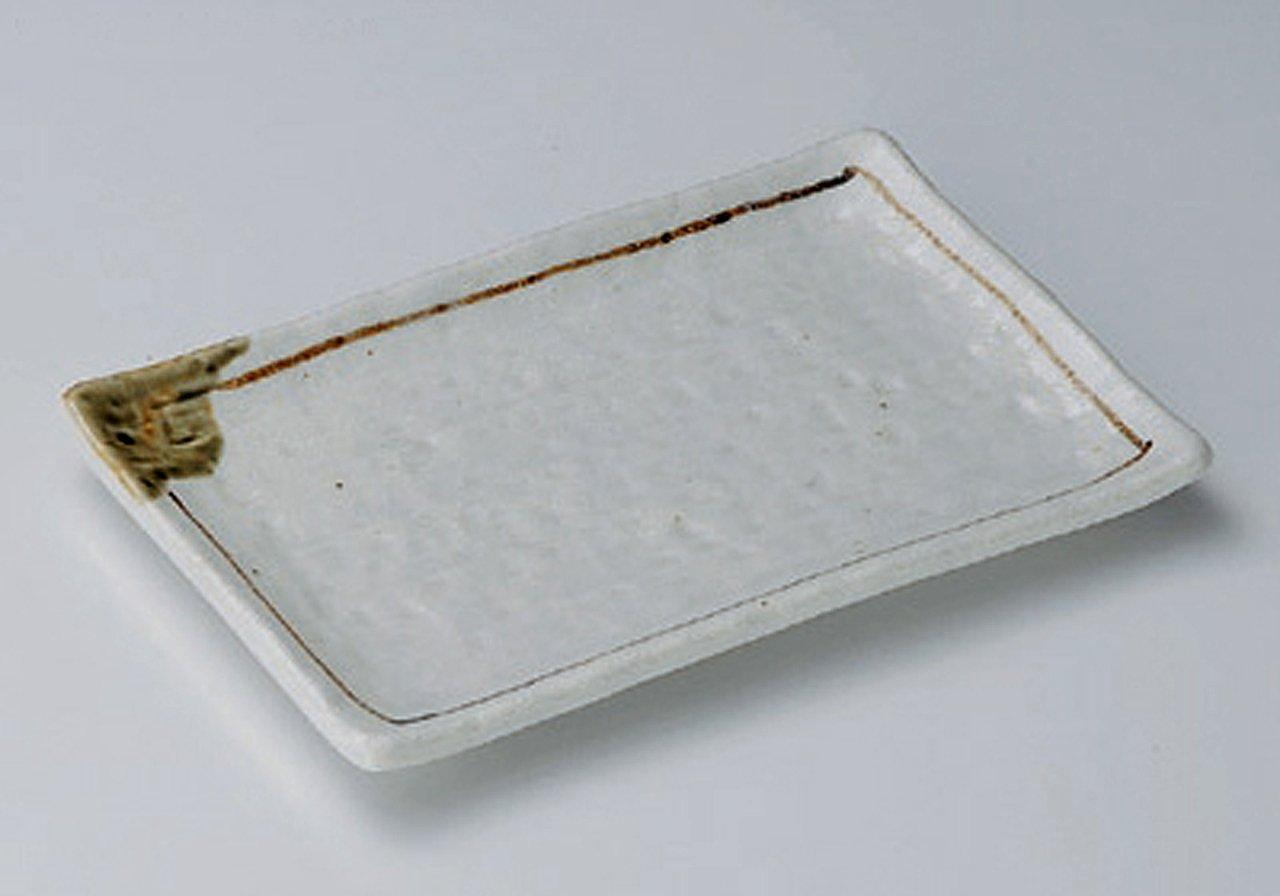 SHINO-ORIBE 17.5cm 10 Teller Jiki Japanisch traditionell