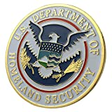 United States Department of Homeland Security / DHS G-P Challenge Coin 1108#