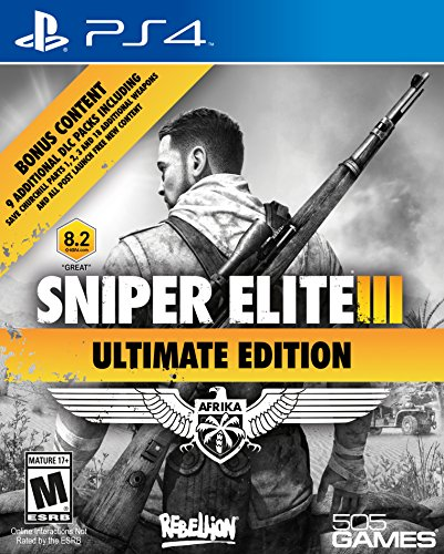 Sniper Elite III Ultimate Edition - PlayStation 4 (Best Non Shooter Ps3 Games)