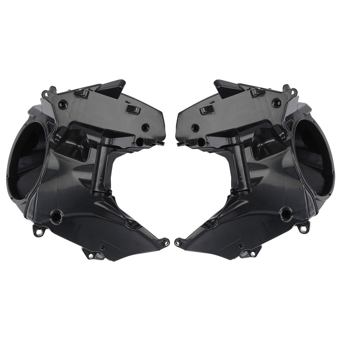 XFMT ABS Inner Fairing Speaker Boxes Covers Compatible with Harley Road Glide FLTRX Special FLTRXS CVO Ultra FLTRUSE 2015-2018 2016 2017