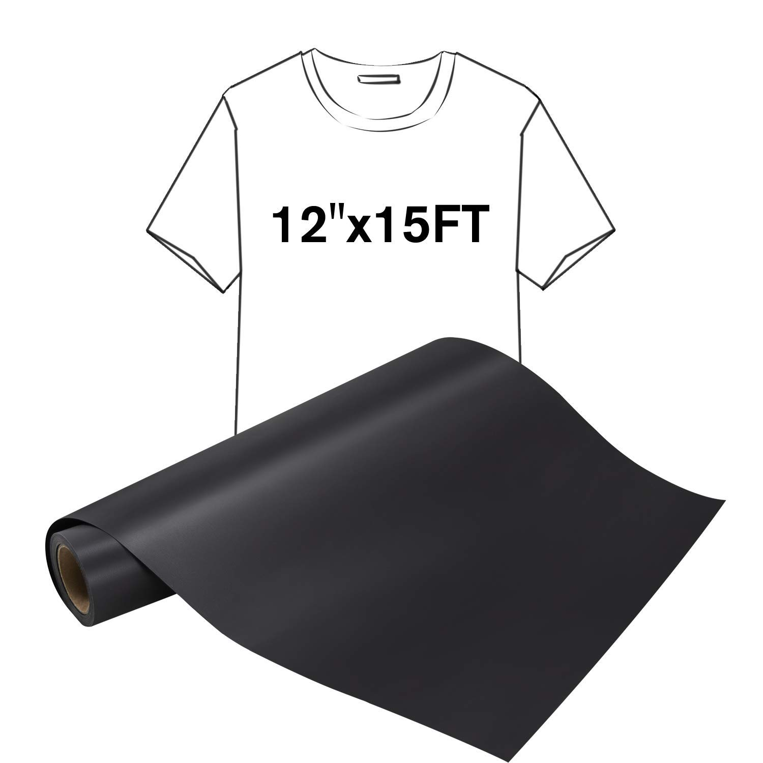 PU HTV Heat Transfer Vinyl by Somolux for Cricut and Silhouette Cameo Iron-On Transfer for DIY T-Shirts /& Fabrics Easy to Weed HoneyTolly HTV Vinyl Bundle 10 x 12-20 Sheets 10 Assorted Colors