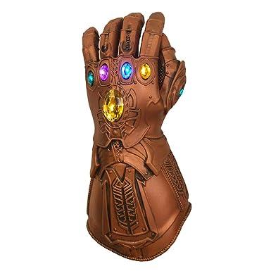 Action- & Spielfiguren Avengers 3 Infinity War Thanos Infinity Gauntlet LED Glowing Glove Cosplay Prop