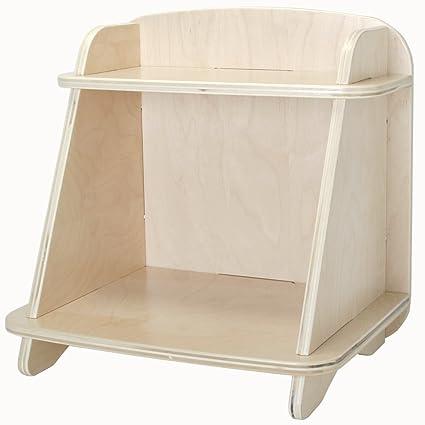 Amazon.com: Blonde Aero Small Bookcase: Kitchen & Dining