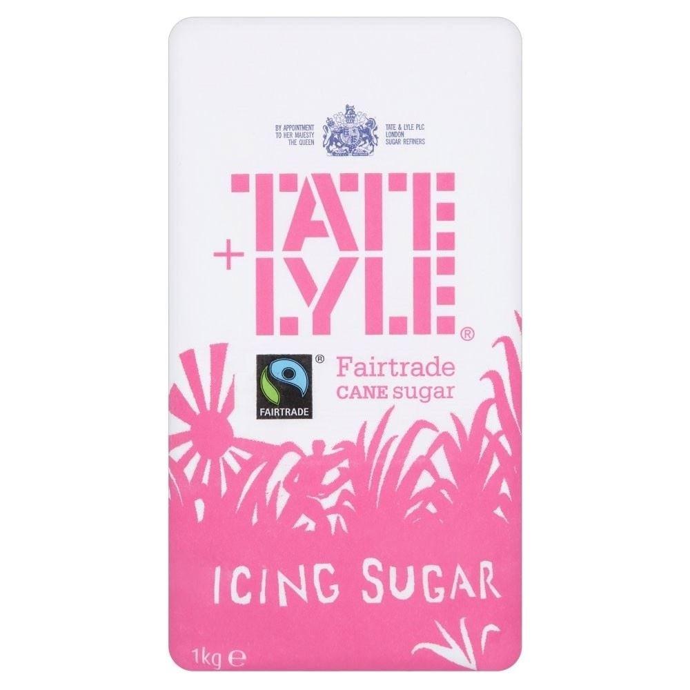 Tate & Lyle Fairtrade Cane Icing Sugar (1Kg)
