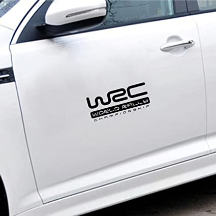 Clickforsign wrc car decal sticker