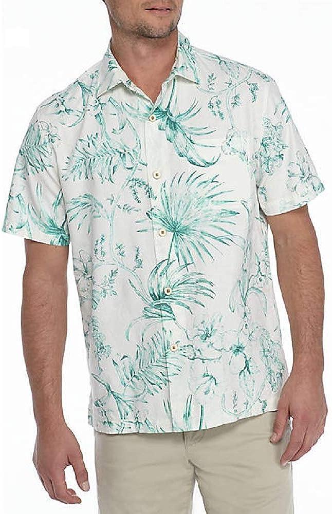 Tommy Bahama El Botanico Silk Blend Camp Shirt
