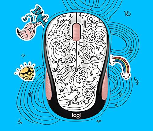 Logitech 910-005032 M325C Wireless Mouse-Brainstorm Peach