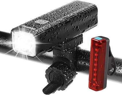 USB Rechargeable 1000 Lumen LED Bike Front Light Bicycle Headlight
