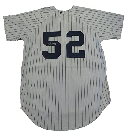 7c6440079 ... reduced jose contreras autographed new york yankees pinstripe jersey w  proof picture of jose signing for