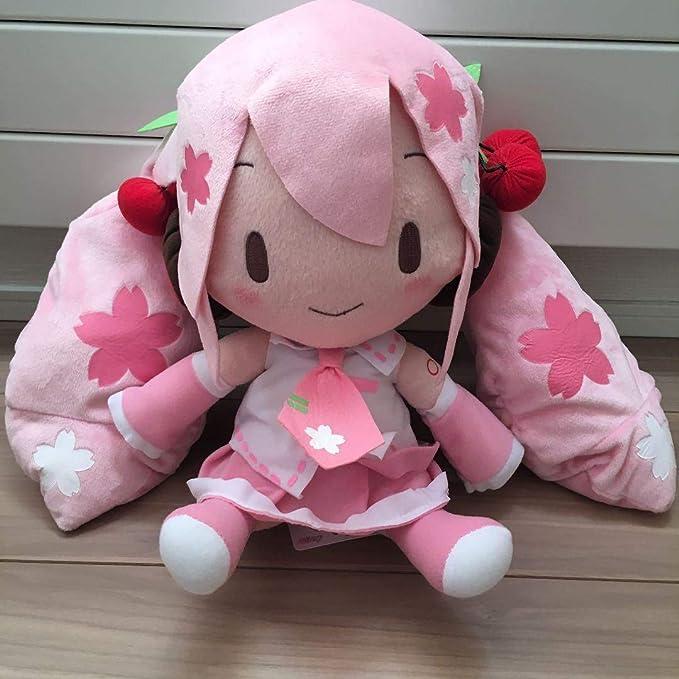 SEGA Hatsune Miku series MEJ fluffy stuffed toy Jumbo size Plush Doll 30cm EUC