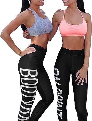 Pantalones Yoga Mujeres Mallas Deportivas Mujer Impresión de ...