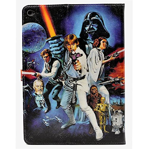 Unique A New Hope Characters Science Fiction Pattern Leather