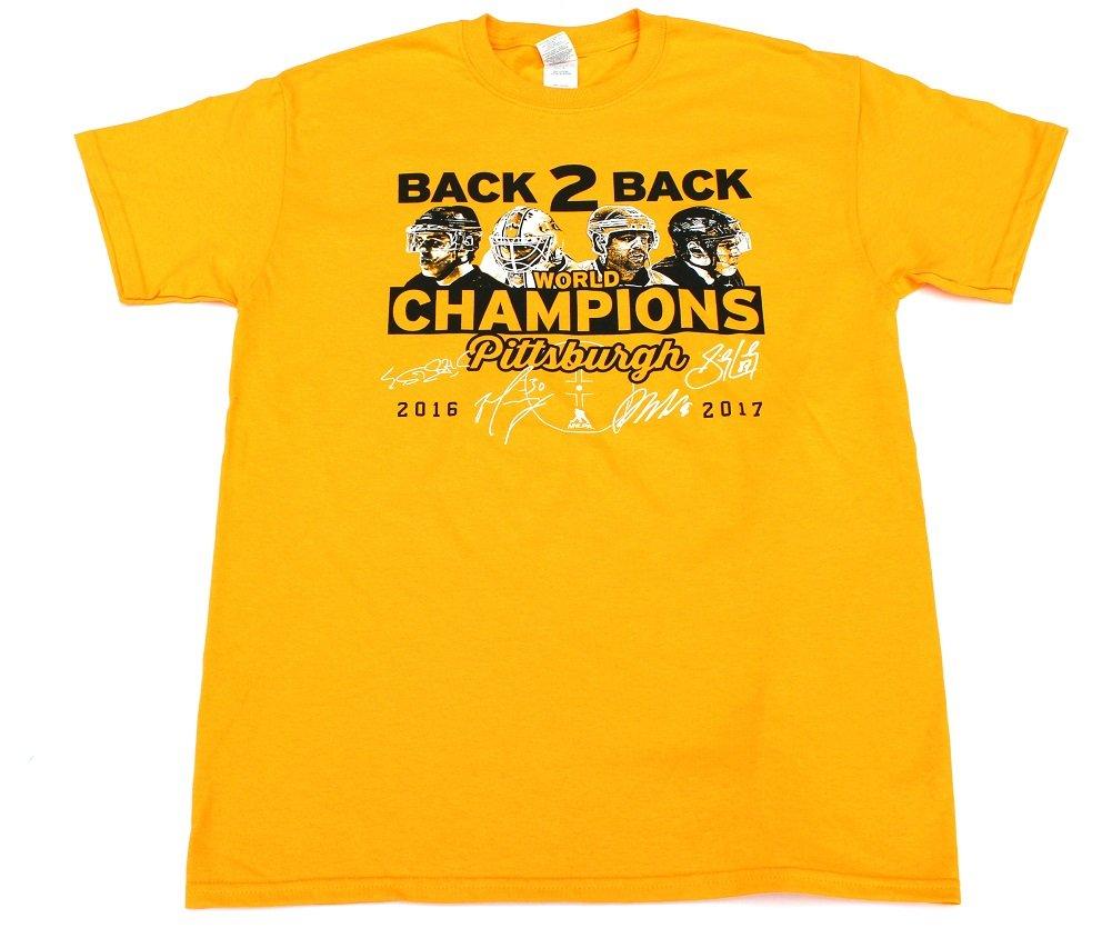 人気大割引 Pittsburgh Stanley Back Penguins Back 2 Back Stanley Cup TeeシャツサイズXXL 2 B071XJQJYJ, ヒダカシ:27fdd0a0 --- a0267596.xsph.ru