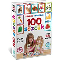 Türkçe - İngilizce 100 SÖZCÜK Kartları