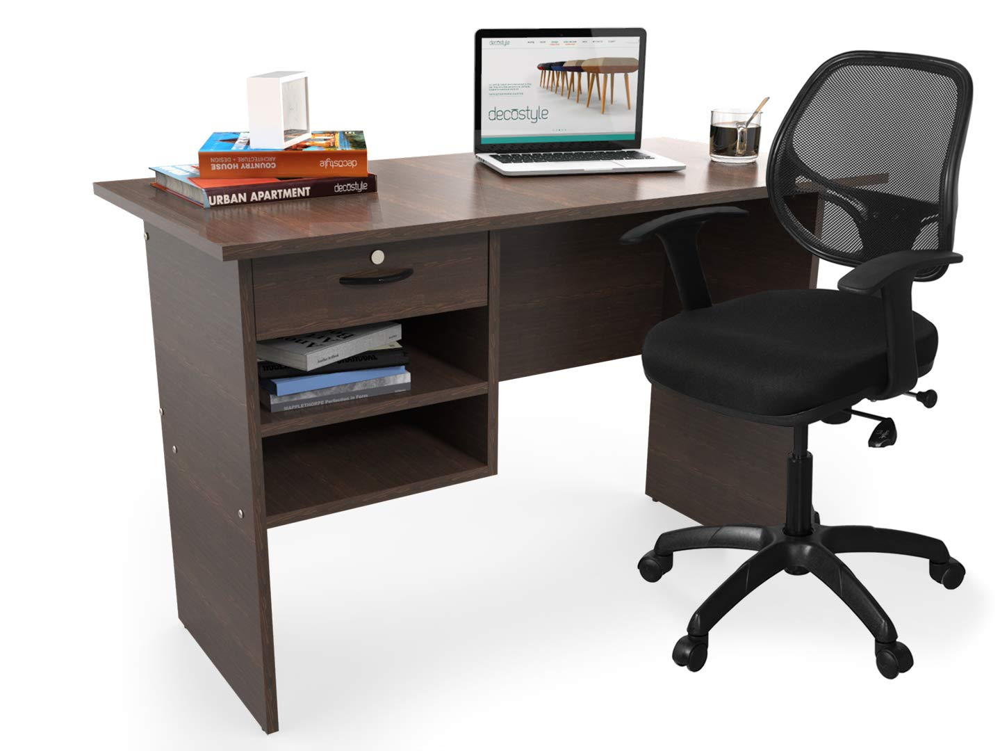 Work From Home Laptop Table with Chair