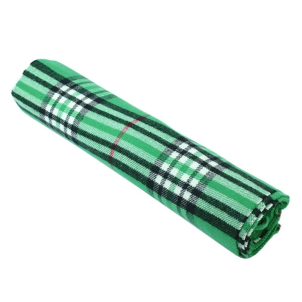 Green/_scarfs for women winter men unisex Check Plaid Classic tartan stripe