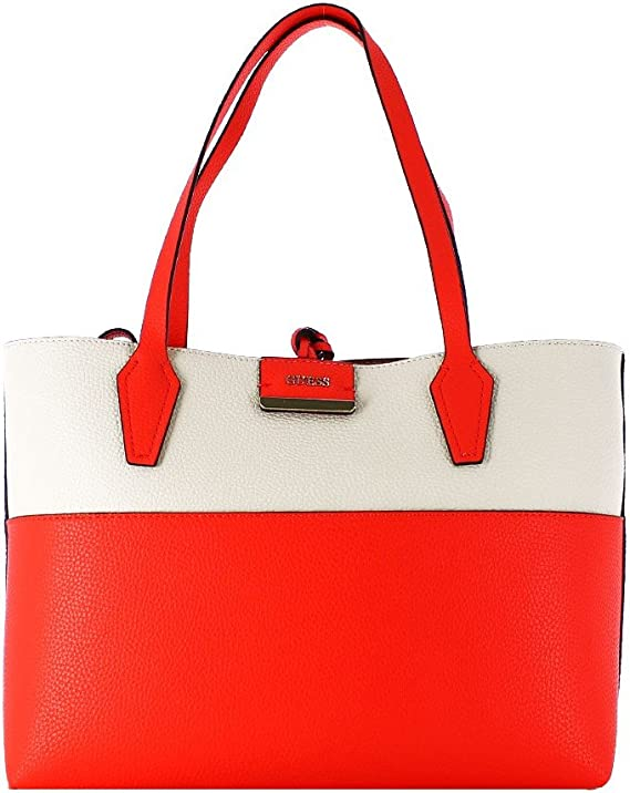 Guess Sac cabas bicolore réversible Bobbi Rouge: