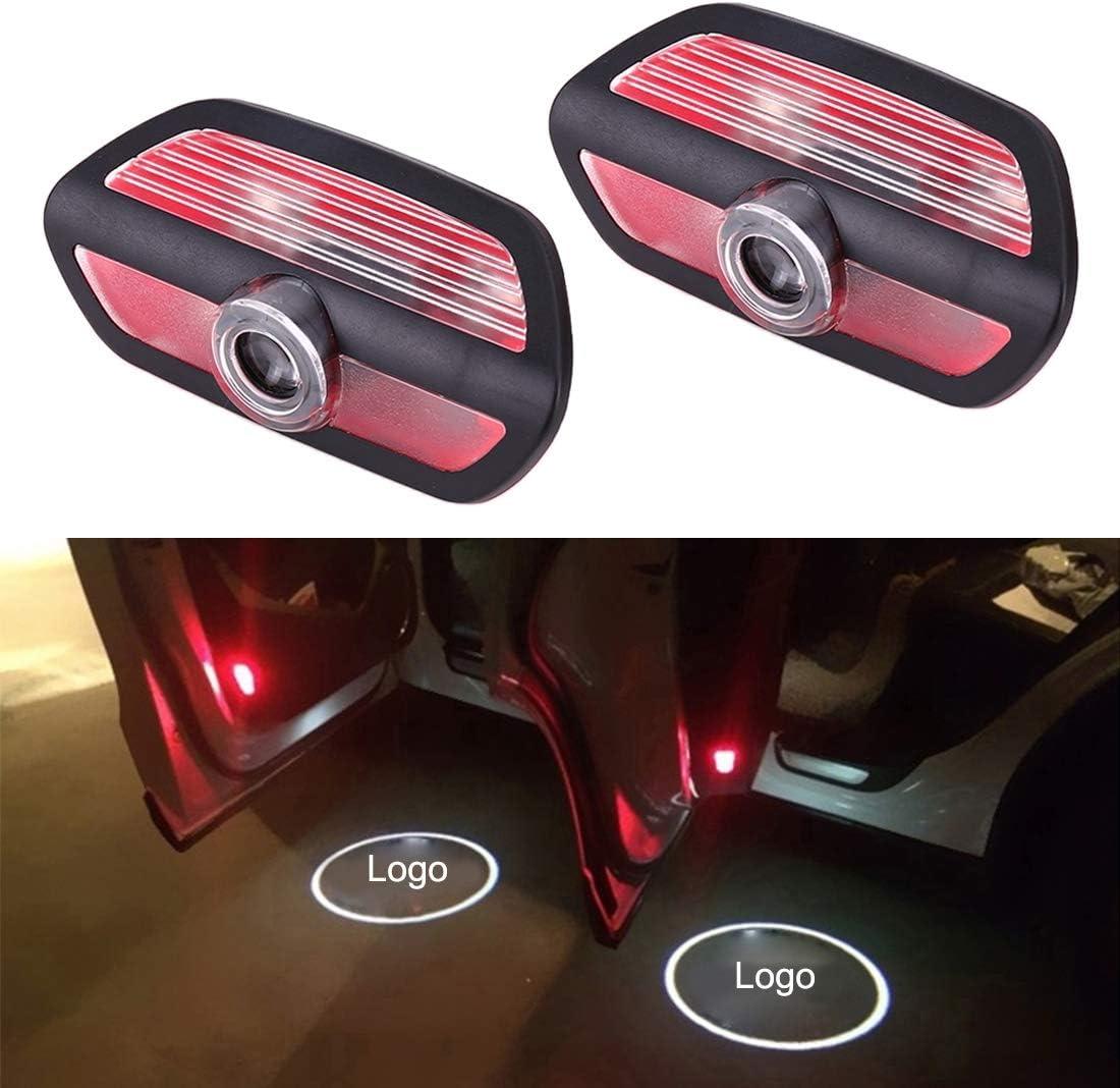 Happy Shop Autot/ür Willkommen Licht 2ST Geist-Schatten-Logo Willkommen die Auto-LED-T/ür-Licht-Laser-Beauty-Diaprojektor Logo Emblem-Licht kompatibel mit Hummer H1 H2 H3 HX Willkommenes Licht