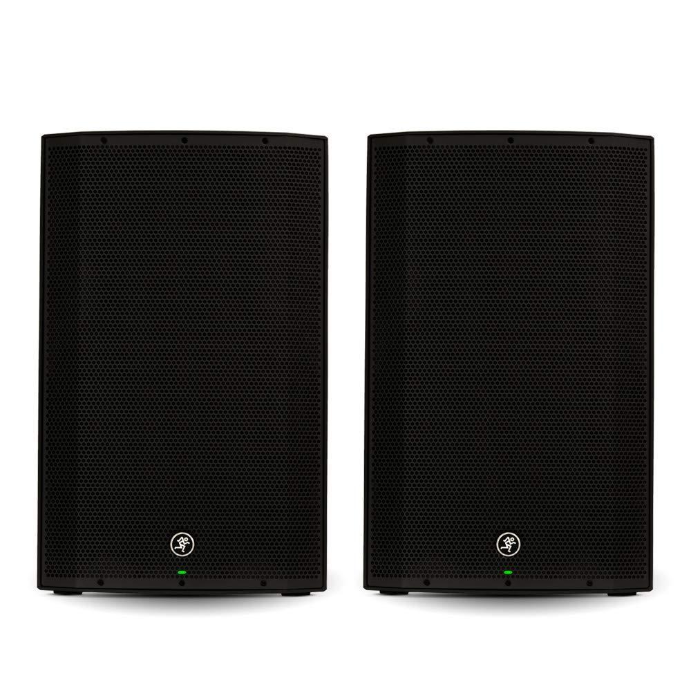 Mackie THUMP15 Powered 15'' Loudspeaker Pair 2000 Watt Bi-Amped Active Speakers THUMP15-Pr by Mackie