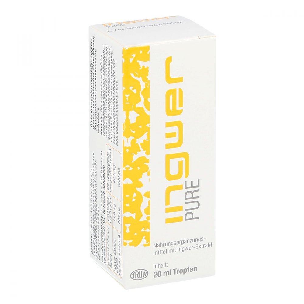 Ingwer pure Tropfen, 20 ml