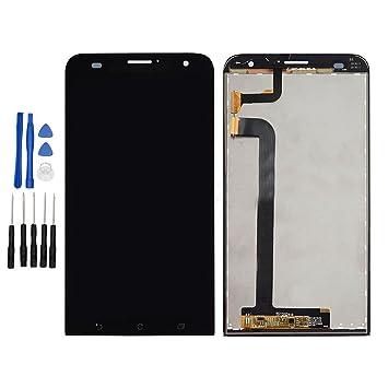 Ixuan Piece De Remplacement Vitre Tactile Ecran LCD Assemble Pour Asus Zenfone 2 Laser ZE550KL Z00LD