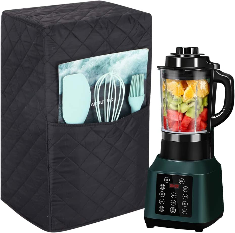 Kitchen Blender Covers, Quilted Polyester Cover Compatible with Ninja 1000 Watt Professional Blender, Protector Cover for Blender Appliance, Gift for Mother 9