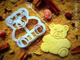 Teddy Bear Cookie Cutter - Small Present for