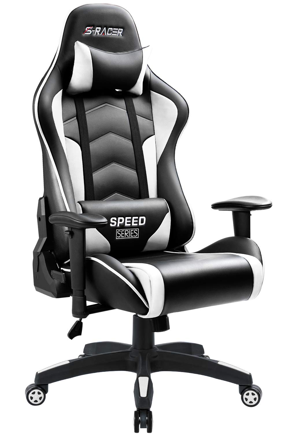 Marvelous Homall Gaming Chair High Back Computer Chair Racing Style Office Chair Embossing Design Pu Leather Bucket Seat Desk Chair With Adjustable Armrest Ncnpc Chair Design For Home Ncnpcorg