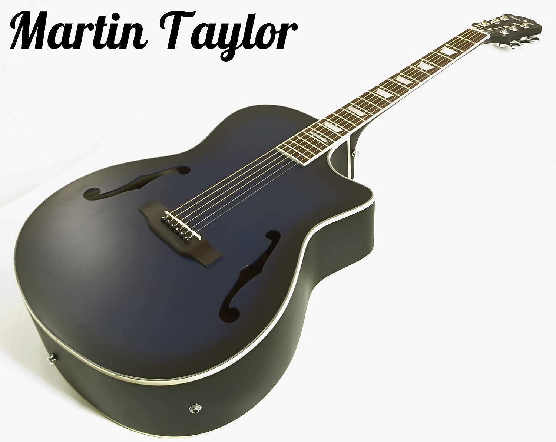 Martin Taylor eléctrico electro Semi Acústico Cuerpo Hueco ...