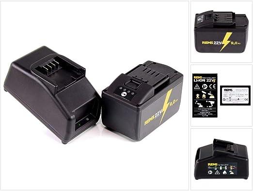 REMS Power Pack 571585 R220 - Batería (21,6 V, 22 V máx ...