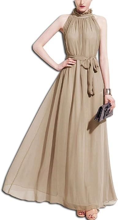 KAXIDY Elegante Maxi Robe de Soirée Robe de Soiree Mariage