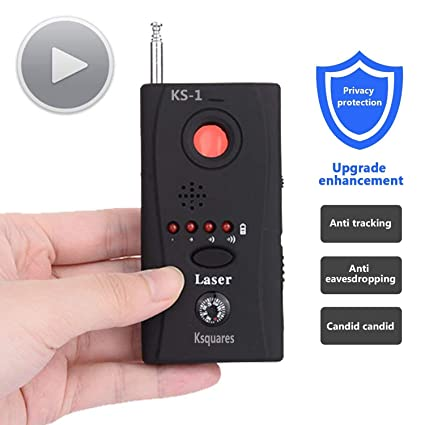 Amazon.com: Ksquares RF Signal Detector Full Range Anti - Spy Bug Detector Mini Wireless Camera Hidden Signal GSM Device Finder: Home & Kitchen