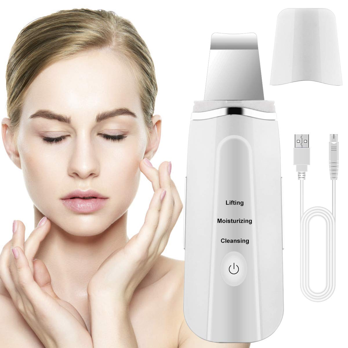 Fancytimes Skin Scrubber Face Remove Blackheads Skin Scrubber Cleaner  Peeling Wrinkle Removal
