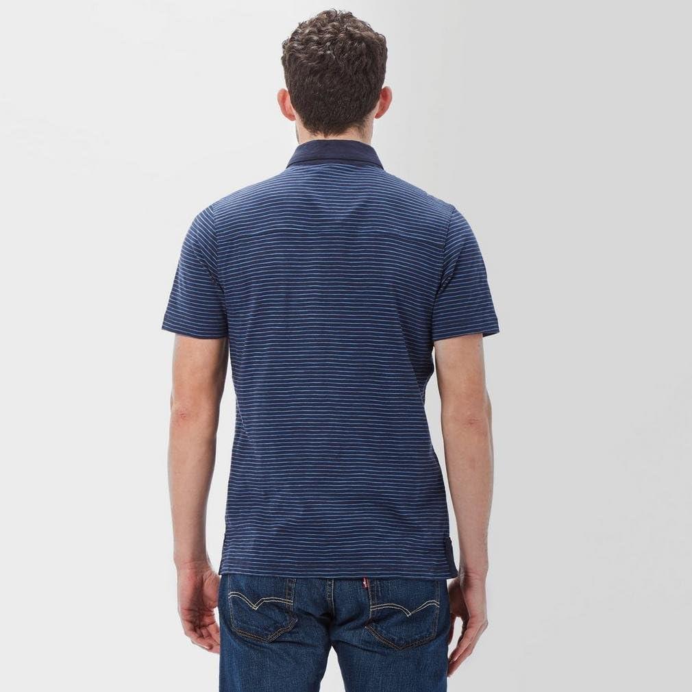 New Brasher Men's Robinson Stripe Short Sleeve Polo Shirt