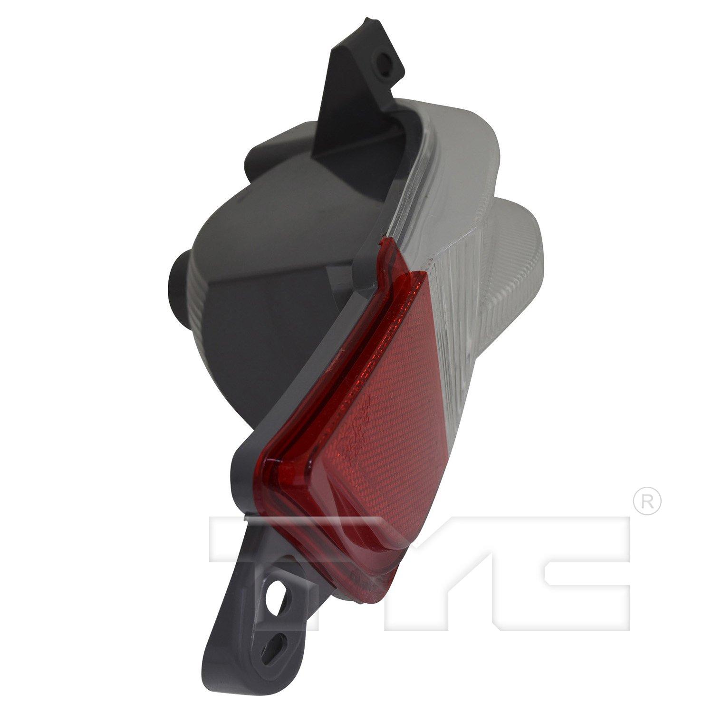 TYC 17-5597-00-9 Honda Pilot Replacement Right Reflex Reflector
