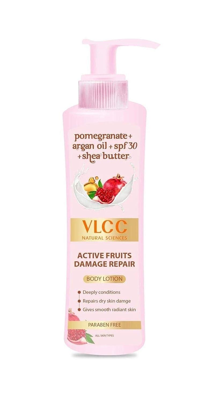 VLCC Active Fruits Damage Repair Body Lotion SPF 30 | PA+++, 400...