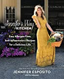 Jennifer Esposito, actress and owner of the beloved New York City-based Jennifer's Way Bakery, shares 100+ delicious, anti-inflammatory, allergen-free recipes that will help bring the joy back to eating for everyone.Crunchy pizza, warm toasted bread,...