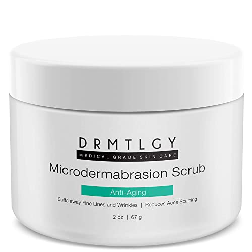 DRMTLGY Microdermabrasion Facial Scrub and Face Exfoliator