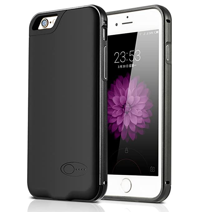 newest 4d25d 33ecf iPhone 6 / 6S Memory Battery Case, Battery Case with TF Card Slot for  iPhone, 2300 mAh Extended Portable Charger for iPhone 6/6s 4.7 inches  (iPhone 6 ...