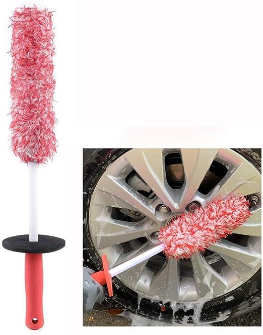 Large clean world industrial Microfiber Alloy Wheel Brush