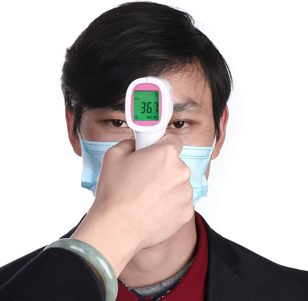 Fever Infrared Gun Bxchx Non-Contact Digital Thermometer Body Temperature Basal Thermometer Family Health Care Gauge