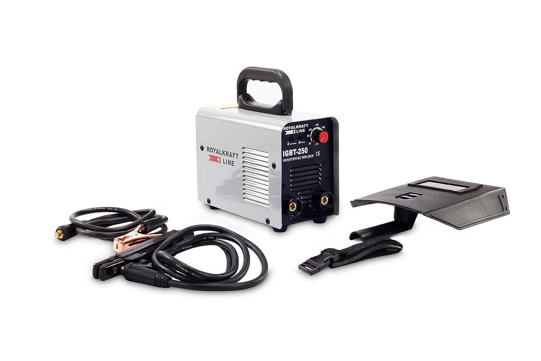 Maquina de soldar IGBT MMA ARC 250 Amperios: Amazon.es: Bricolaje y herramientas