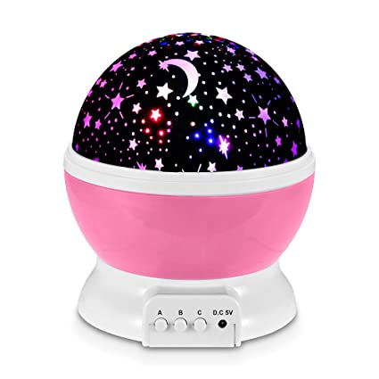 y Modos Lámpara Colores para con 7 y Giratorias LED Master Redlemon Luz de de de Habitación Proyector Estrellas IluminaciónStar Bebés 3 Niños de nwX8OPk0