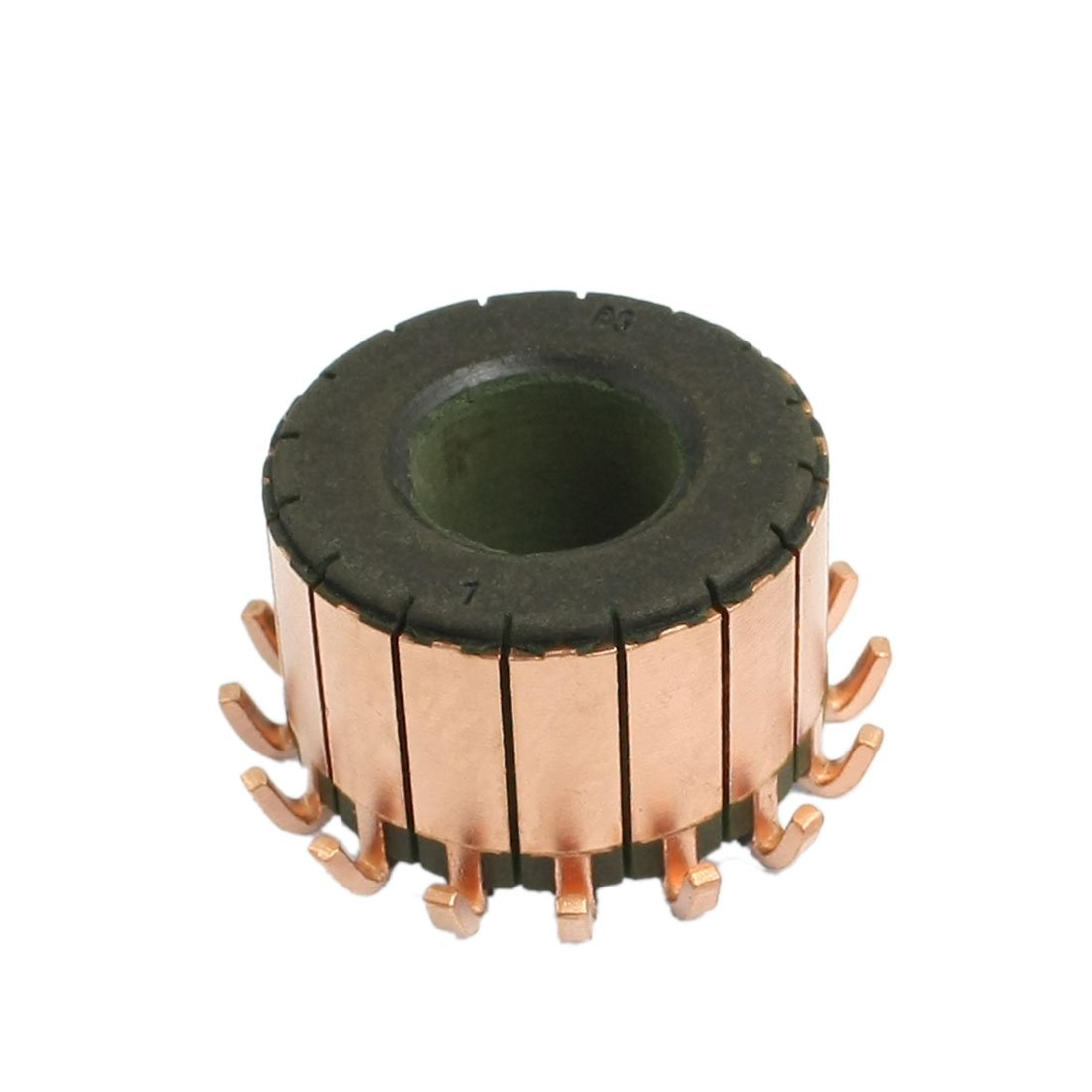uxcell 15mm x 32mm x 22mm 16 Gear Tooth Copper Shell Electric Motor Commutator a12102200ux0835