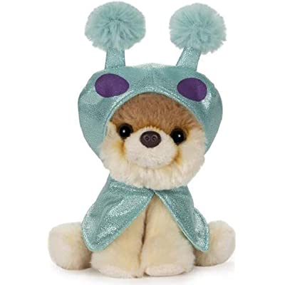 "GUND Boo World's Cutest Dog Itty Bitty Alien Plush Stuffed Animal Pomeranian, 6"": Toys & Games"