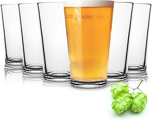 Tivoli Liverpool Vasos de Cerveza - 490 ml - Conjunto de 6 - Gafas ...