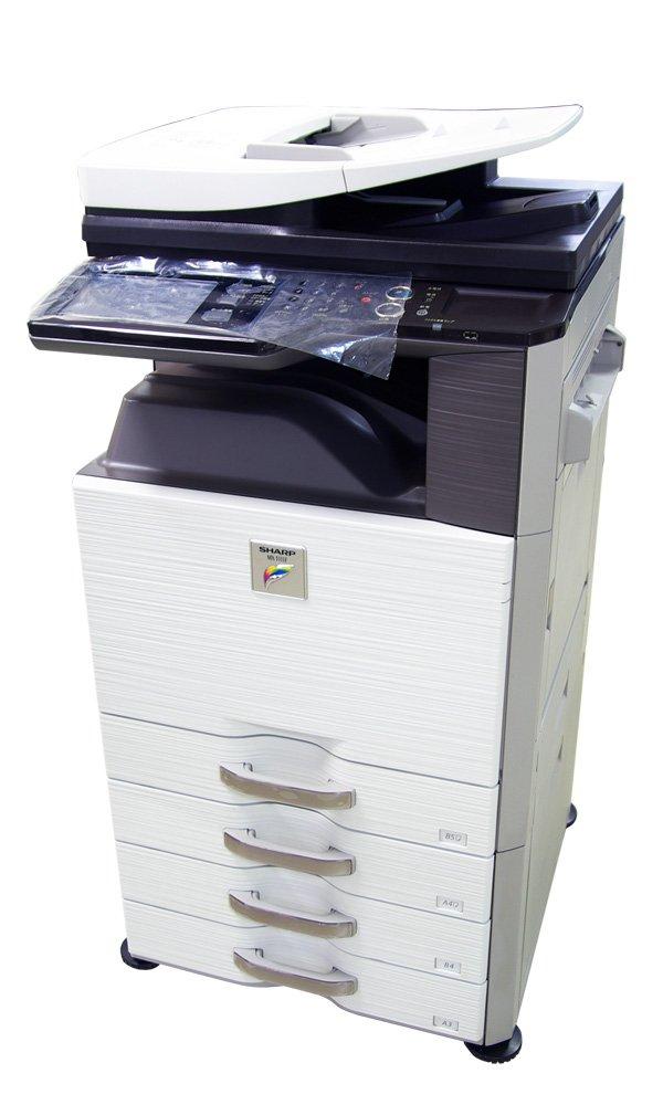 SHARP デジタルフルカラー複合機 4段システム MX-3111FN   B079NMM8TJ