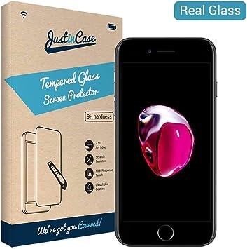 ZAMK Tech Shop (4,7 Pantalla 9H Dureza Vidrio Templado para iPhone 6/6s/7/8 [3 Pieza] utra Transparente Lisa Resistente a los Golpes Resistente a los arañazos. Antihuellas: Amazon.es: Electrónica